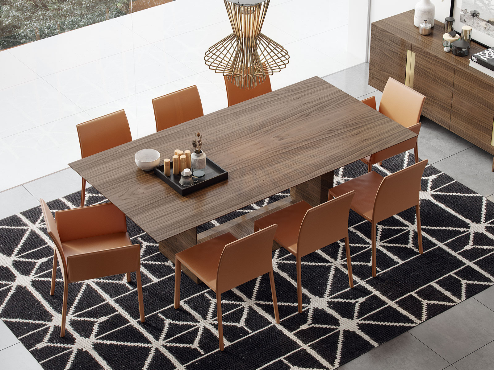 Greenwich In Dining Table Bimma Loft - Slender dining table